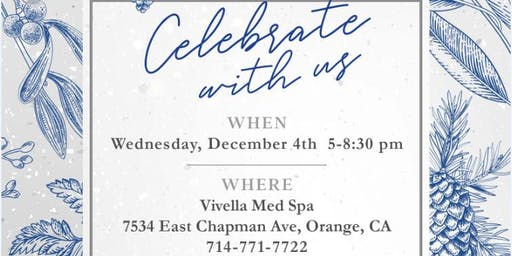 Annual Holiday Event at Vivella Med Spa