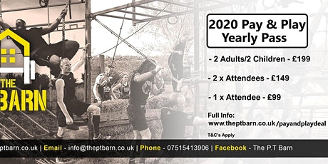 2020 Pay & Play Yearly Pass Special Offer tickets
