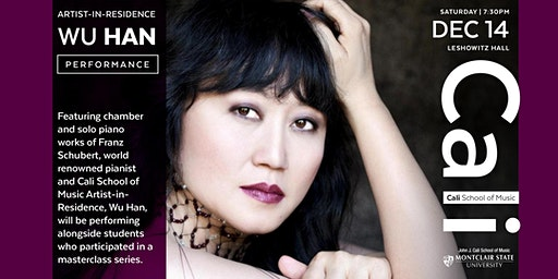 FREE Performance by Pianist and Artist-in-Residence, Wu Han