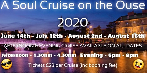 Soul Cruise On The Ouse Evening 16th Aug
