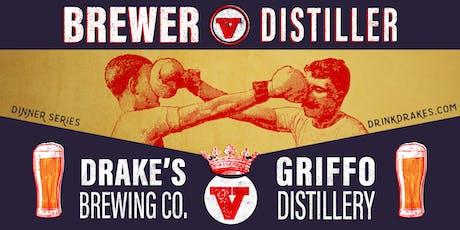 Brewer V Distiller Beer Dinner tickets