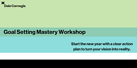 Goal Setting Mastery - Mississauga tickets