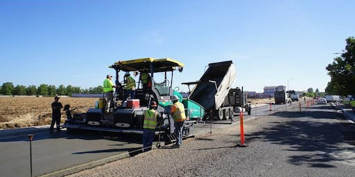 Roller Compacted Concrete Pavement Open House
