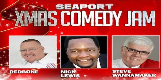 SAVANNAH, GA- Seaport Xmas Comedy Jam