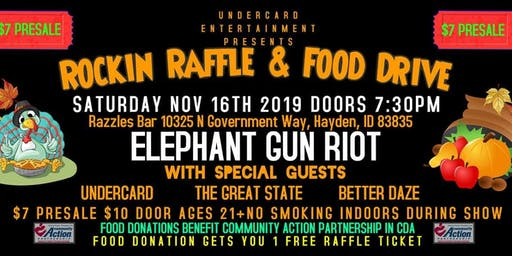 Raffle/Food Drive Concert- Huge Prizes (Details In Event)