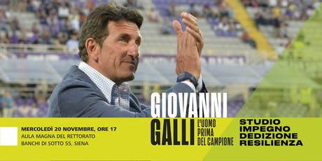 Giovanni Galli: l'uomo prima del campione. Studio, impegno, resilienza biglietti