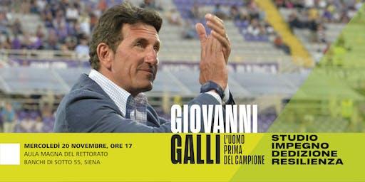 Giovanni Galli: l'uomo prima del campione. Studio, impegno, resilienza