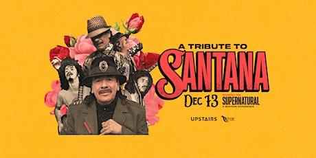 A Tribute to Santana tickets