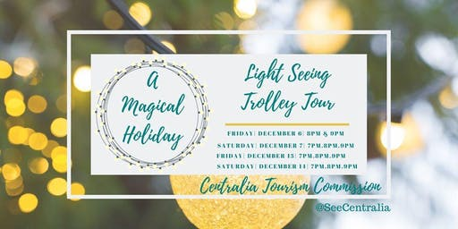 A Magical Holiday - Light Seeing Trolley Tour