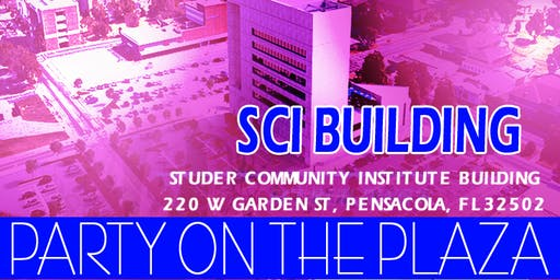 Party on the Plaza at the SCI Building