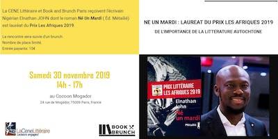 Book & Brunch Paris  x La CENE  : Café Littéraire avec  Elnathan John