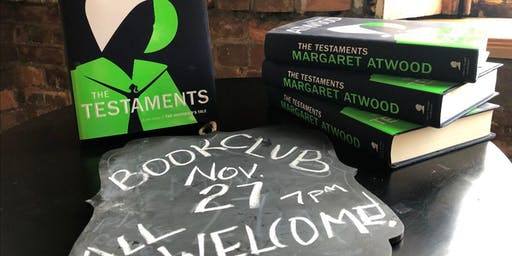 """4th Wednesday Book Club:  Margaret Atwood's """"The Testaments"""""""