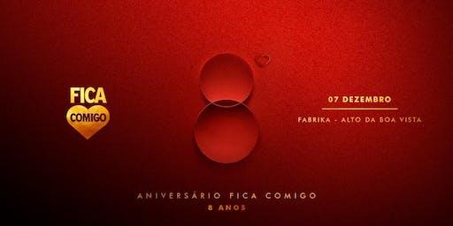 OITO ANOS : No Jardim do Amor. :: RIO :: Fica Comigo 8 Anos
