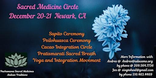 Sacred Medicine Ceremony and Integration Circle (Bufo-huasca, Psilo-huasca)