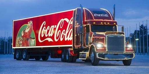 Coca-Cola Santa Truck R68