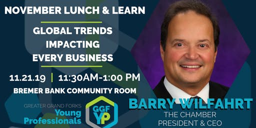 November Lunch & Learn: Global Trends Impacting Every Business