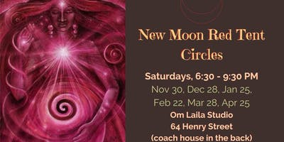 New Moon Red Tent Circle