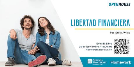 Libertad financiera: Protección y ahorro tickets