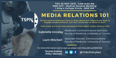 Media Relations 101 Workshop tickets