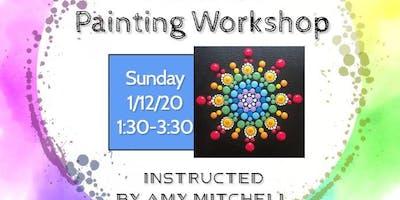 Mindfulness Mandala Painting Workshop