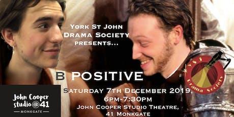 B Positive tickets