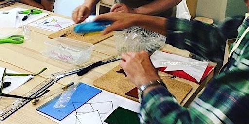 Glass Flower Workshop (copper foiling technique)