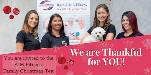 AIM Fitness Family Appreciation & Christmas Tea
