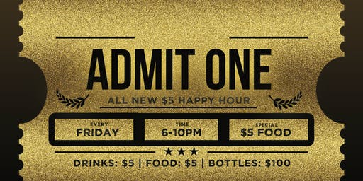 $5 Happy Hour @ Stadium Club Friday