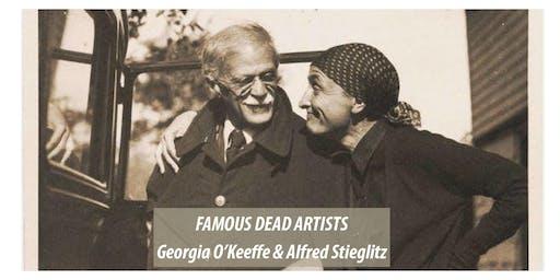 Famous Dead Artists - Georgia O'Keeffe & Alfred Stieglitz