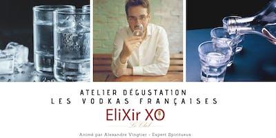 Atelier de dégustation : Les Vodkas Françaises