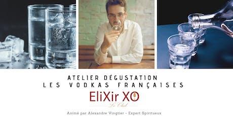 Atelier de dégustation : Les Vodkas Françaises tickets