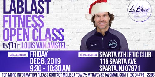 Holiday LaBlast Class with Louis van Amstel