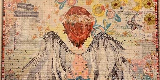'Noel' Laura Heine Fabric Collage • Dec 6 5:30-9:30pm & Dec 7 1:00-9:00pm