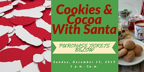 Cookies and Cocoa With Santa tickets