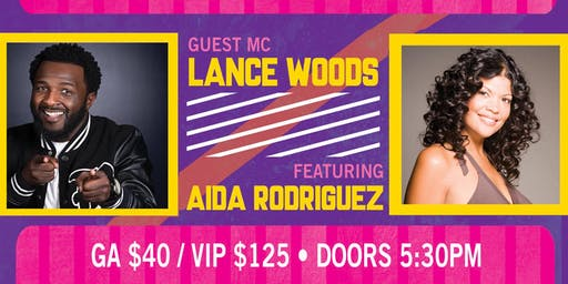 Stand Up Sacramento Comedy Show featuring Aida Rodriguez and Lance Woods