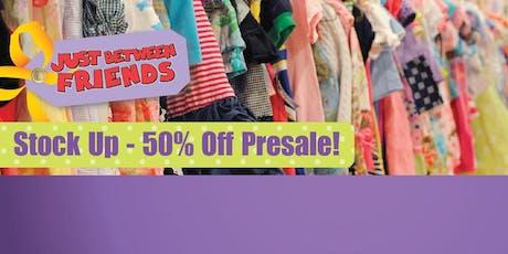 JBF Oaks: 50% Off Presale ($10/family) tickets