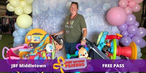 FREE General Admission Pass | April 2nd-5th |JBF Middletown Spring 2020 | Mega Children's Sale event