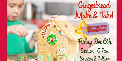 Make & Take Gingerbread House