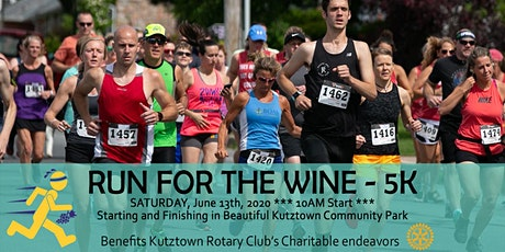 Run for the Wine - 5k tickets