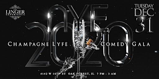 NYE 2020 CHAMPAGNE & COMEDY GALA