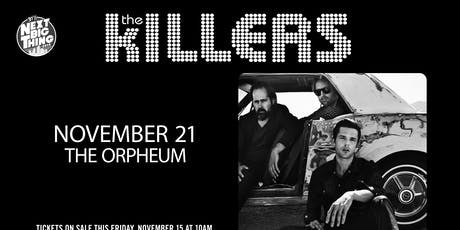 The Killers @ The Orpheum tickets