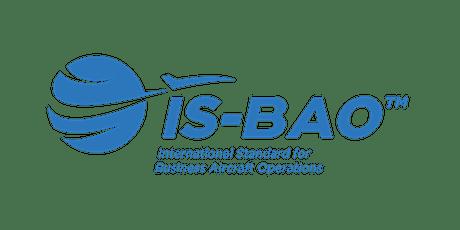 IS-BAO Workshops: Online tickets