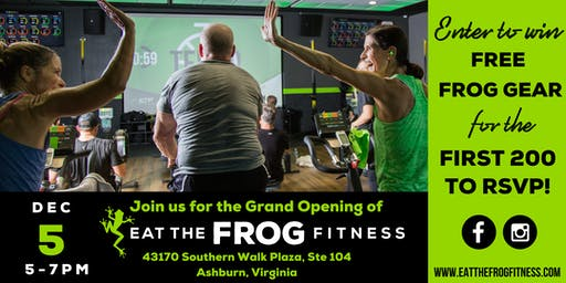 Eat the Frog Fitness - Broadlands - Grand Opening