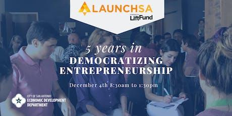 Launch SA: 5 Years in Democratizing Entrepreneurship  tickets