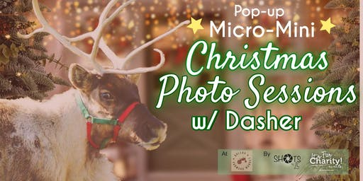 Christmas w/ Live Reindeer Photo Sessions Pop-up at Dallas Farmers Market