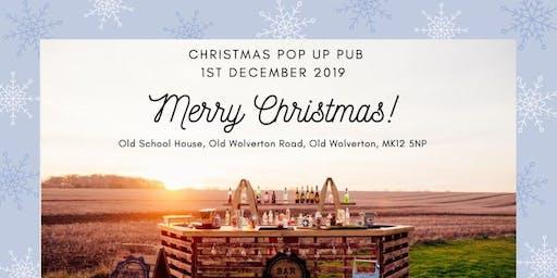 Christmas Pop Up Pub.