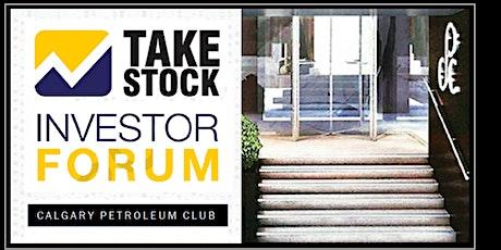 TakeStock Investor Forum - Calgary - June 4th 2020 tickets