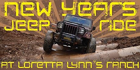 NYE Jeep Ride at Loretta Lynn's Ranch entradas