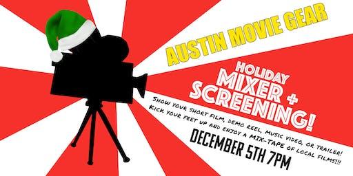 Filmmaker Holiday Mixer + Screening
