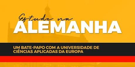 Estude na Alemanha! Um bate-papo com a UE. ingressos